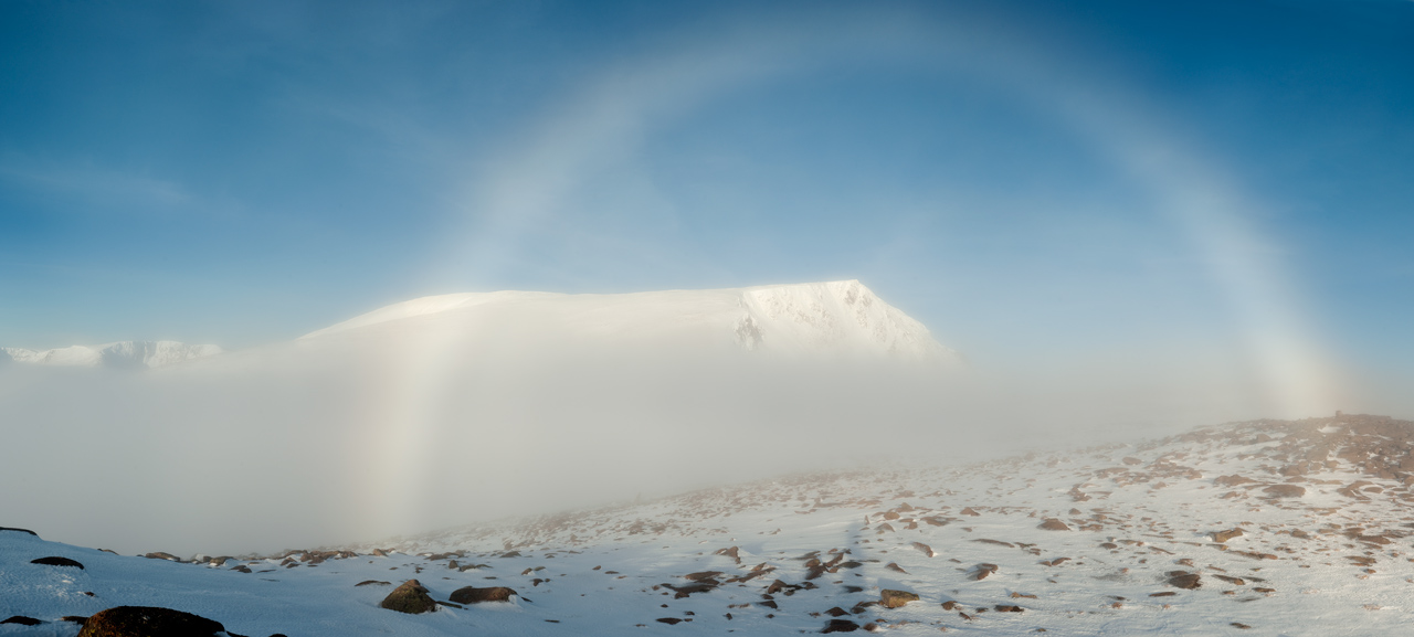 White Fogbow & Ben MacDui, 12 Dec 2009